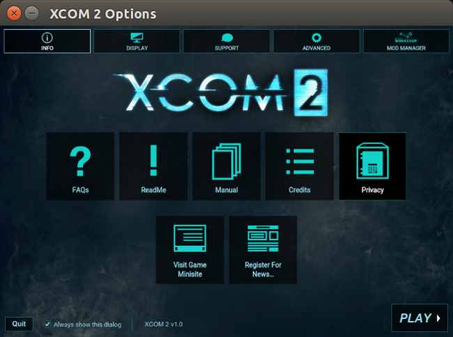 XCOM2 - Launcher by Feral